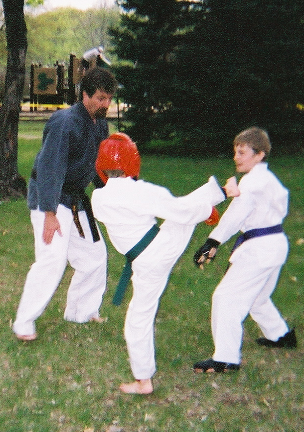 """Learning 'brotherly love"""" via Sparring..."""